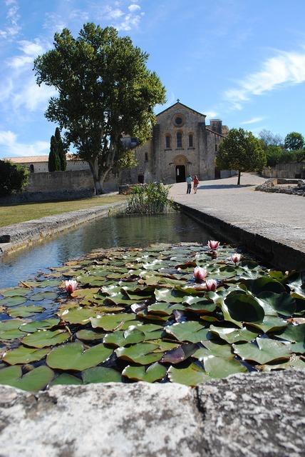 Monastery abbey silvacane, religion.