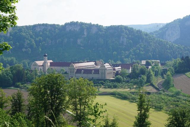 Monastery beuron christian, religion.