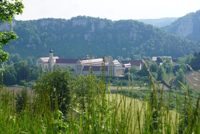 Monastery beuron germany, nature landscapes.