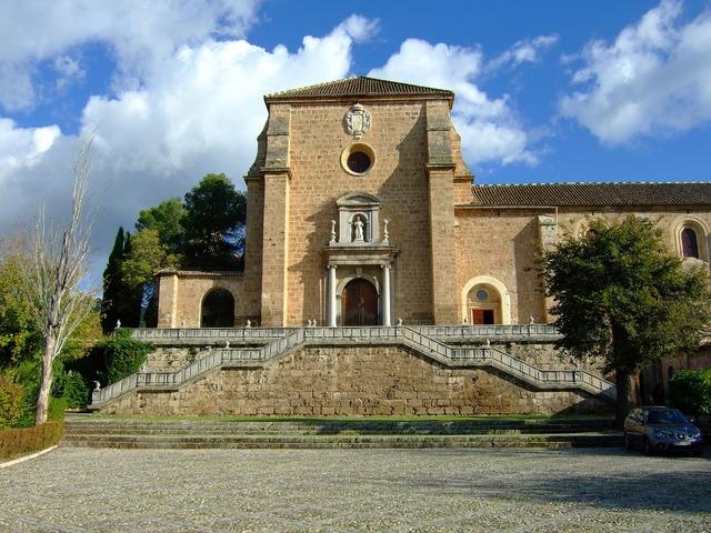 Monastery charterhouse granada.