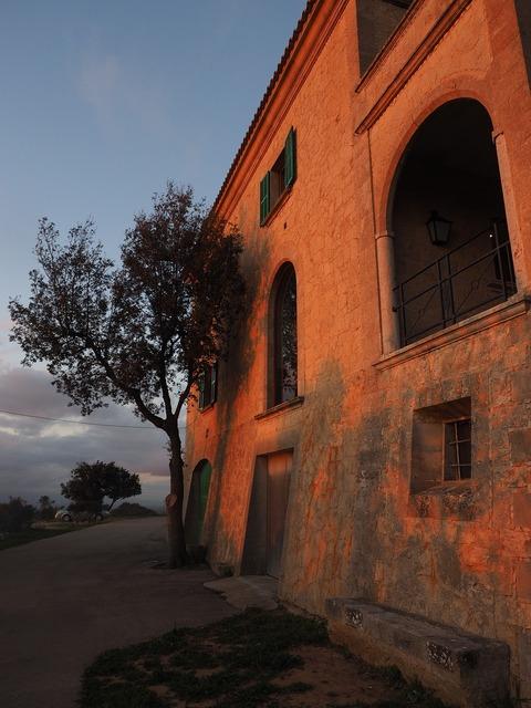 Monastery cura cura algaida, architecture buildings.