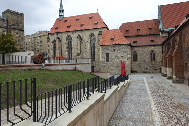 Monastery gothic architecture, architecture buildings.