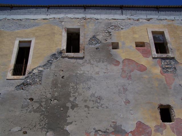 Monastery ibiza adobe, architecture buildings.