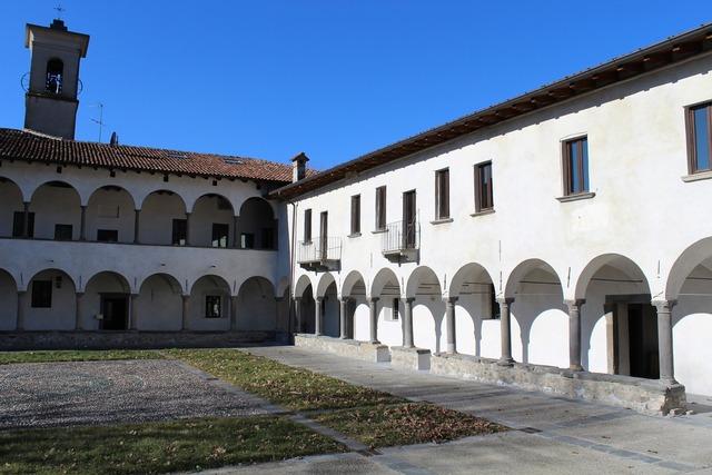Monastery maria del lavello church, religion.