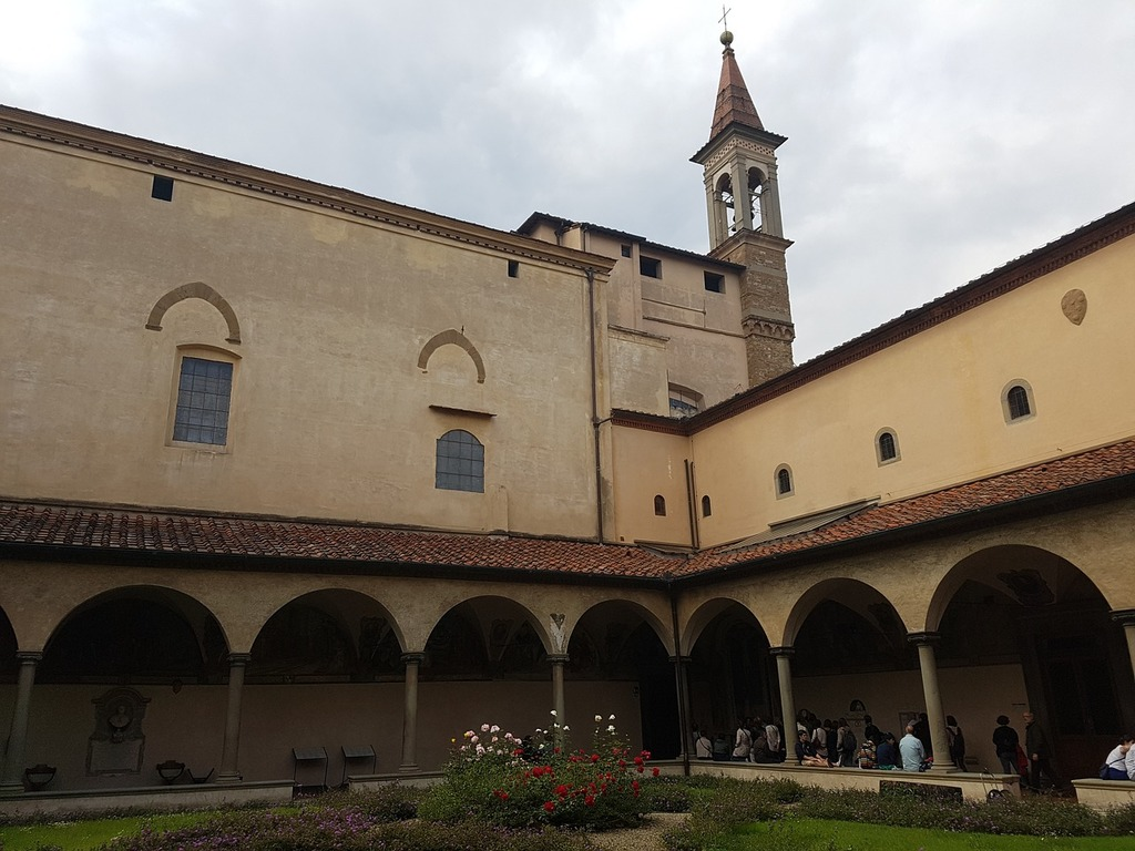 Monastery of san marco florence italy, architecture buildings.