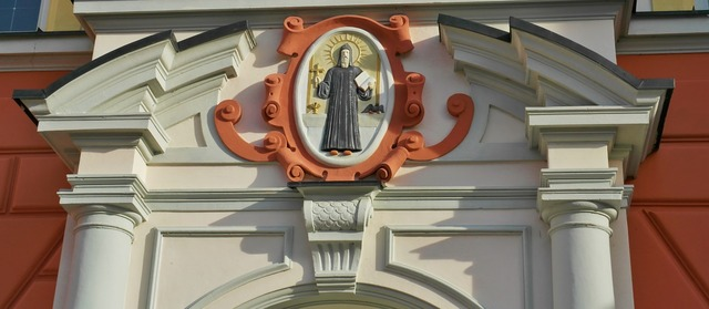 Monastery portal scheyern, architecture buildings.