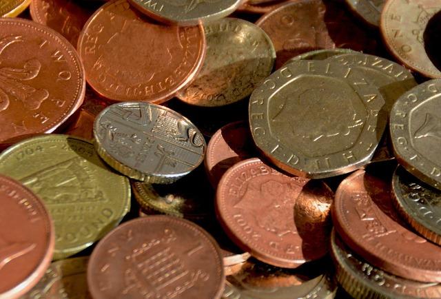 Money coins cash, business finance.
