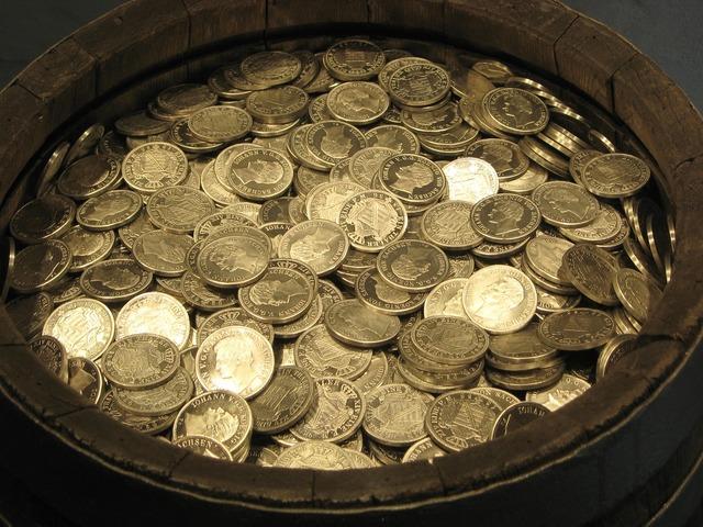Money coins gold, business finance.