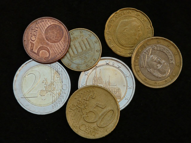 Money coins specie, business finance.