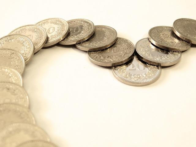 Money coins taxes, business finance.