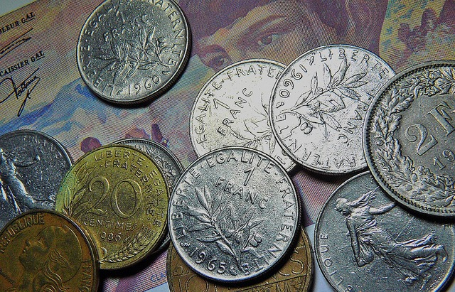 Money currency coins, business finance.