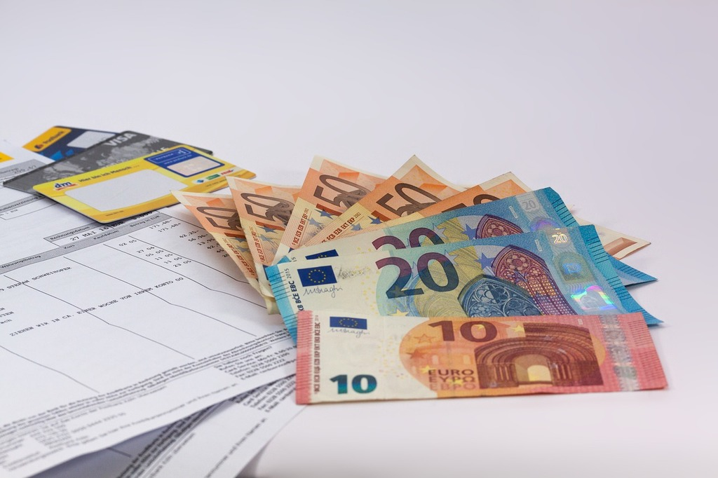 Money euro currency, business finance.