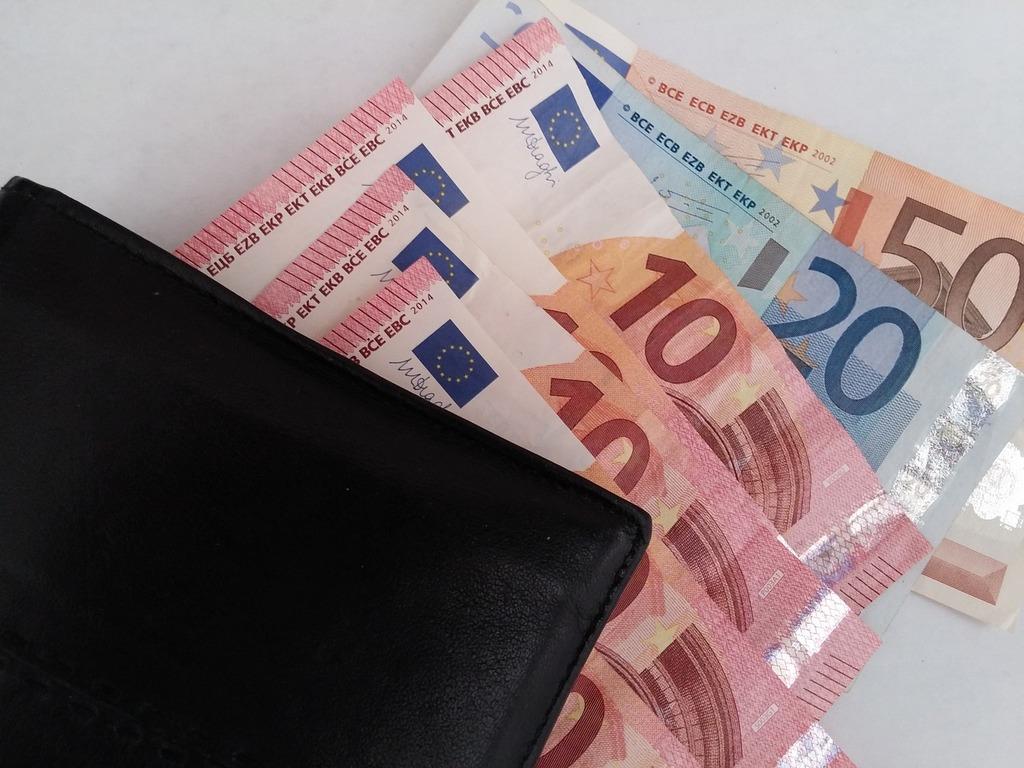 Money euro notes euro, business finance.