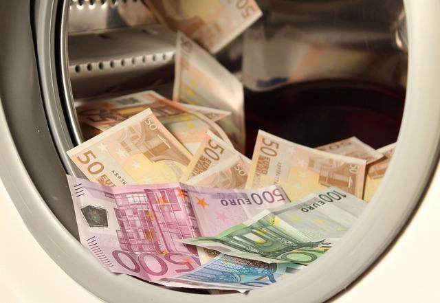 Money euro wash, business finance.