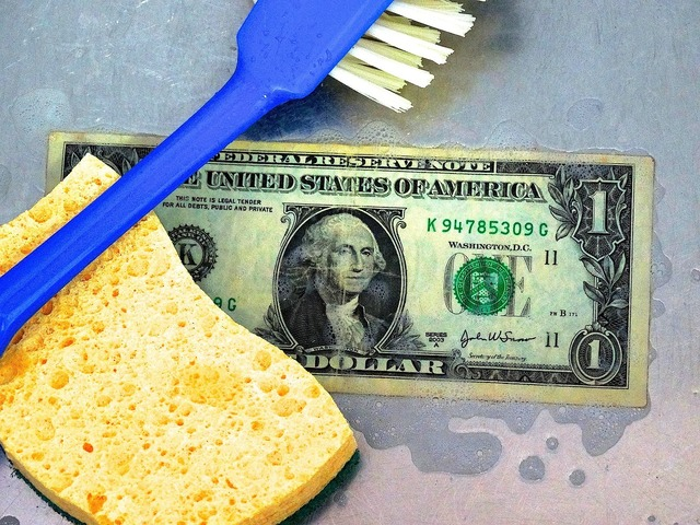 Money laundering money music, business finance.