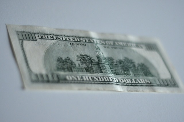 Money making the dollar currency, business finance.