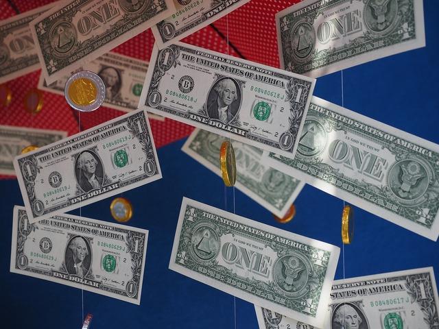 Money rain gift dollar rain, business finance.