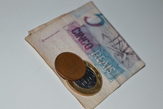 Money real currency, business finance.