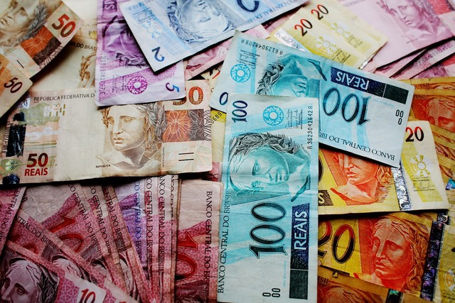 Money real money in brazil, business finance.