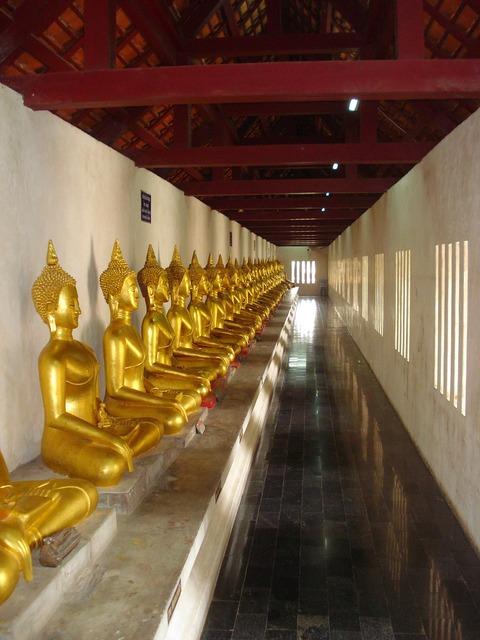 Monk thailand temple, religion.