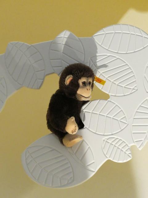 Monkey äffchen steiff animals.