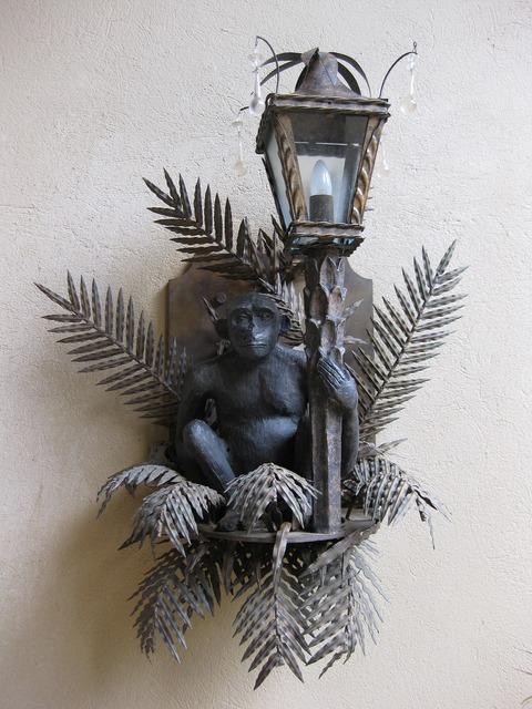 Monkey lamp äffchen, animals.