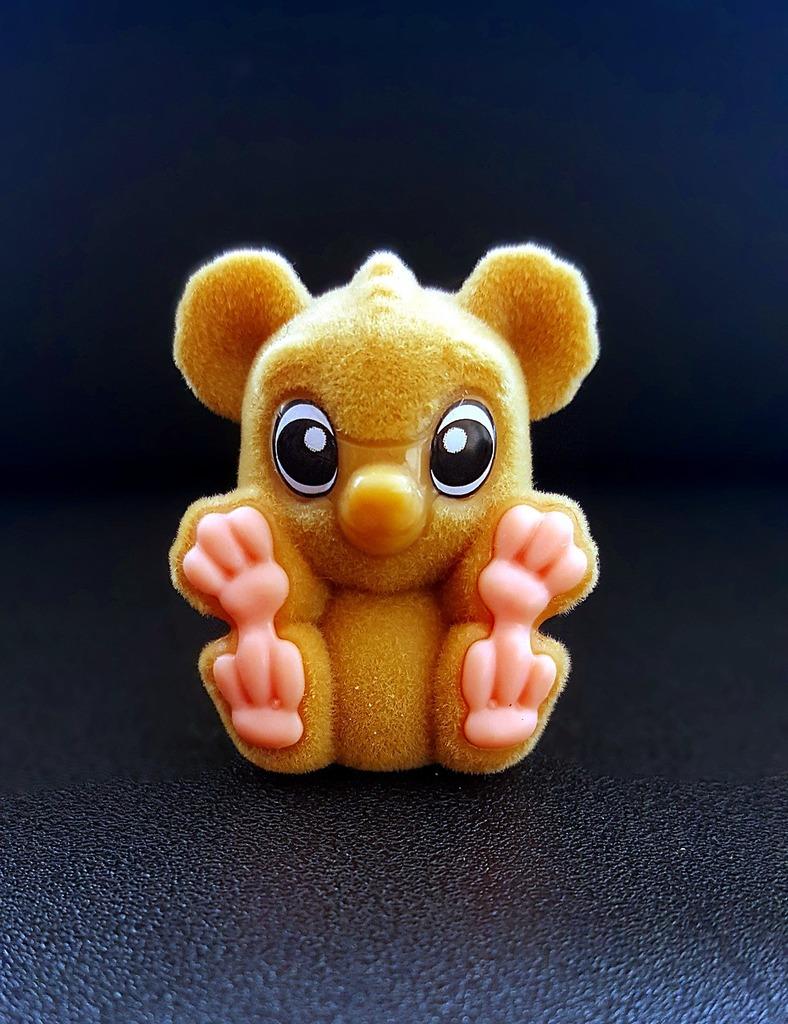 Monkey sweet cuddly.