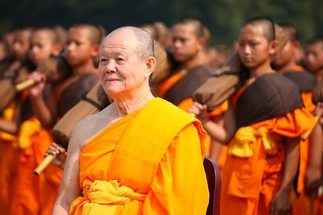 Monks buddhists buddhism, religion.