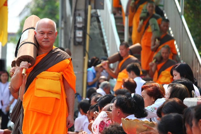 Monks buddhists buddhism, religion.
