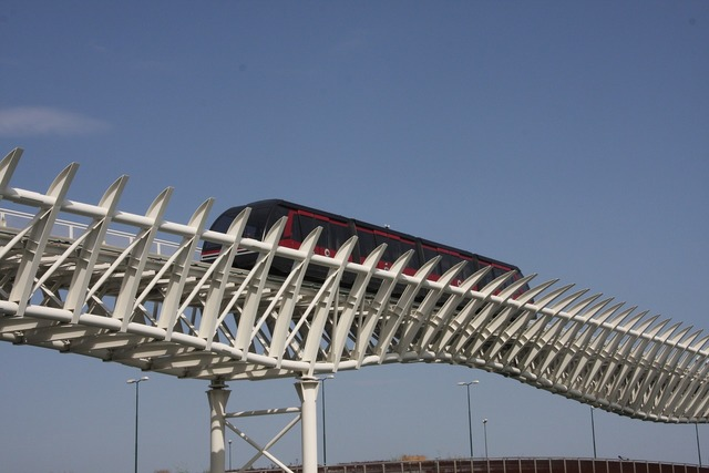 Monorail magnetic levitation italy.
