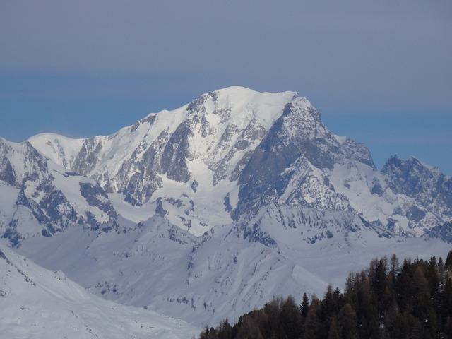 Mont blanc france alps.