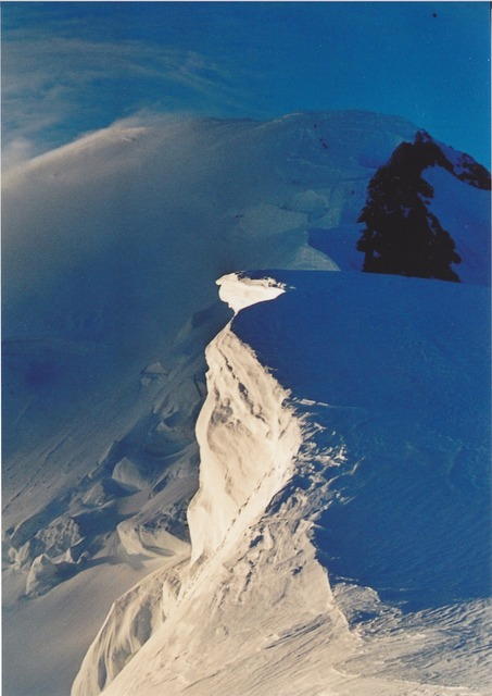 Mont blanc snow alpine.