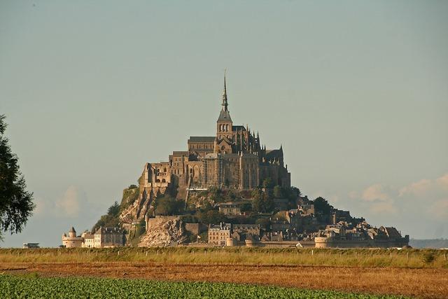 Mont saint michel monastery normandy, religion.