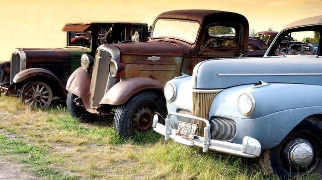 Montana truck oltimer, transportation traffic.