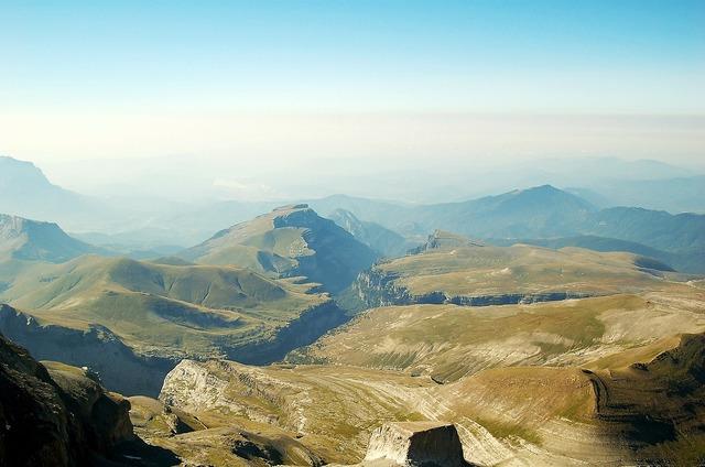 Monte perdido top huesca, nature landscapes.