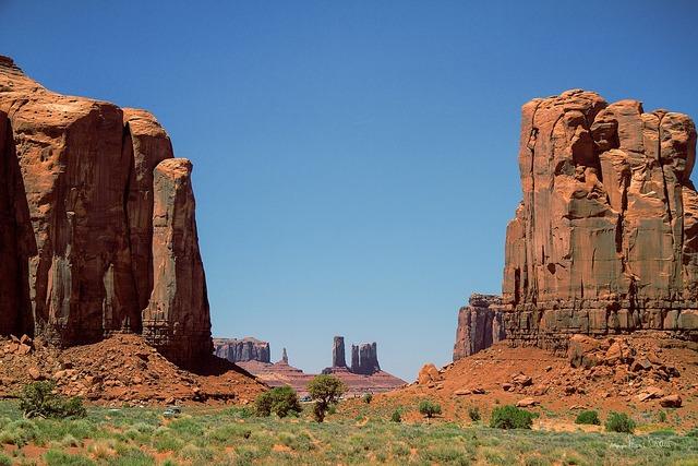 Monument valley utah wild west.