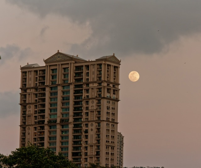 Moon building india, architecture buildings.