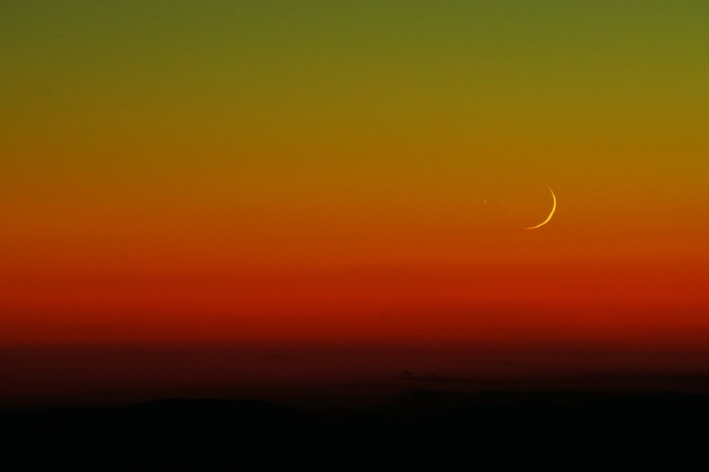 Moon hue astronomy, nature landscapes.