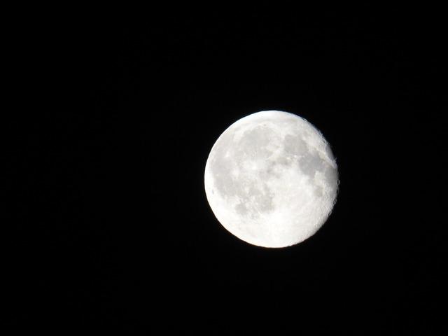 Moon night space.