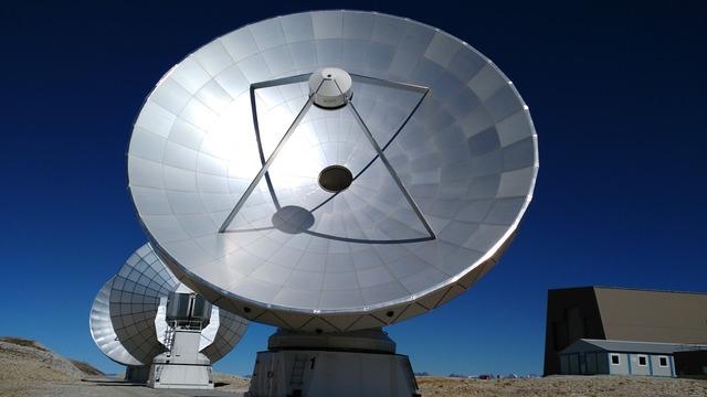 Moon planets observation observation station.