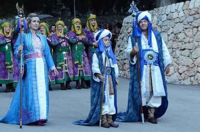 Moors christians moros y christianos.