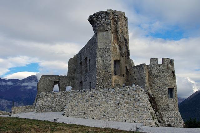 Morano castle of morano calabria.