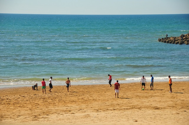 Morocco assilah beach, travel vacation.