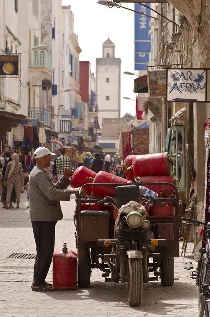 Morocco essaouira medina.