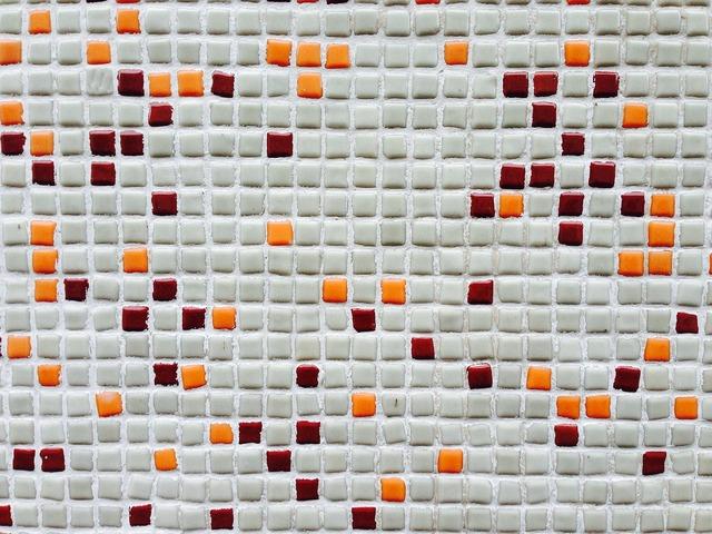 Mosaic mosaic stone structure, architecture buildings.