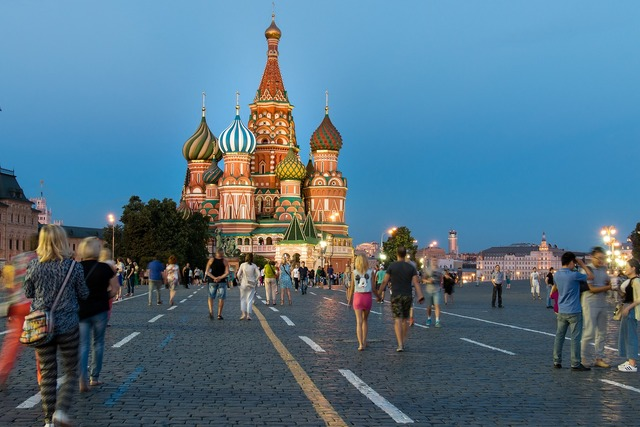Moscow red square russia, travel vacation.