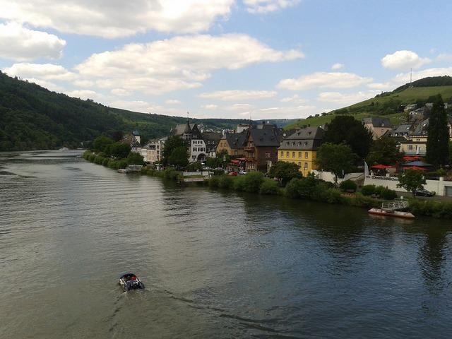 Mosel river sachsen.