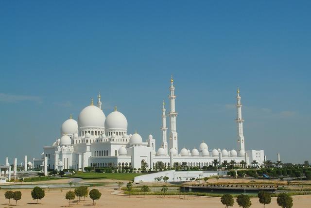 Mosque abu dhabi white mosque.