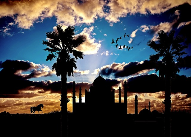 Mosque exotic architecture, architecture buildings.