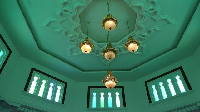 Mosque interior malaysia, architecture buildings.